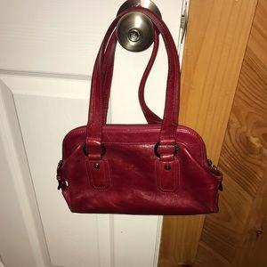 Handbags - Daniela Moda Red Purse